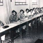 Reunião dos supervisores da ACAR-AM, em 11 de abril de 1977