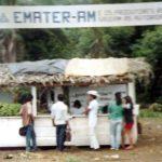 Feira da Agricultura Familiar no município de Apuí, em 1984.