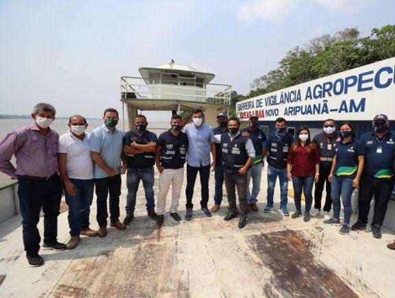 Governador entrega Posto de Fiscalização Agropecuária em Novo Aripuanã