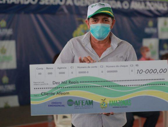 Crédito emergencial muda a vida de pescadores em Boca do Acre, Canutama e Pauini