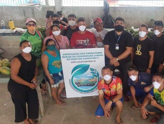 Idam realiza entrega de mais de 12 toneladas de alimentos pelo PAA em Anamã