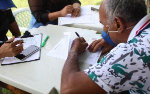 Em Vila Rica de Caviana, Idam realiza ação para emissão de Cartão do Produtor e Declaração de Aptidão ao Pronaf